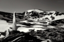 El monòlit i el Puigmal